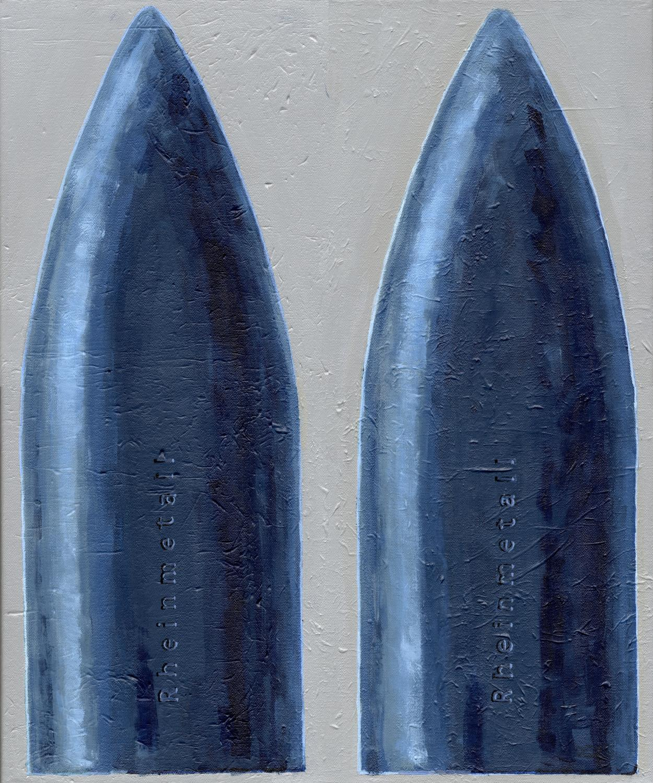 Patrone blau